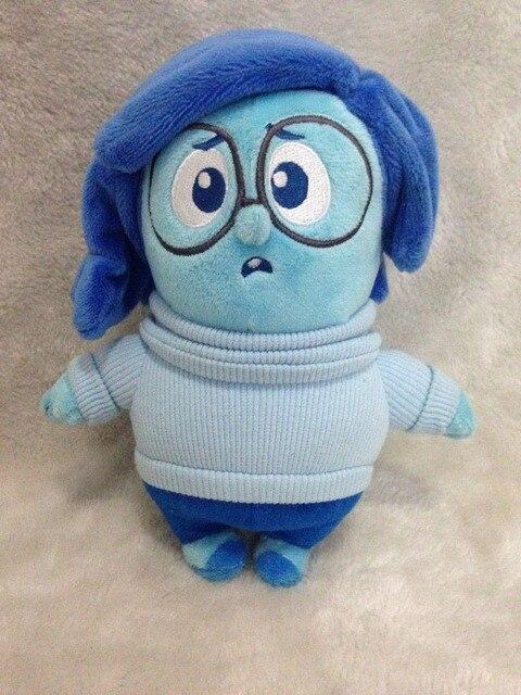 30 см наизнанку плюшевые игрушки для малышей подарок небольшой кулон чучела детские игрушки Pixar фильм высокое качество печаль реальная картина