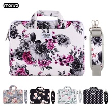 MOSISO Laptop Bag 13.3 14 15.6 Inch Waterproof Canvas Notebook Bag for Macbook Air Pro 13 15 Computer Shoulder Handbag Briefcase mosiso laptop bag 13 3 15 6 inch waterproof notebook bag women men for macbook air pro 13 15 computer shoulder handbag briefcase
