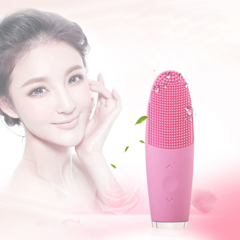 Electric Facial Cleanser Cleaning Brush Skin Care Blackhead Remover Washing Massager Scrubber Face Beauty Cleaner Tools 30 new 3 in1 multifunctional facial cleaning tools usb rechargeable electric rotating facial cleansing brush cleaners scrubber