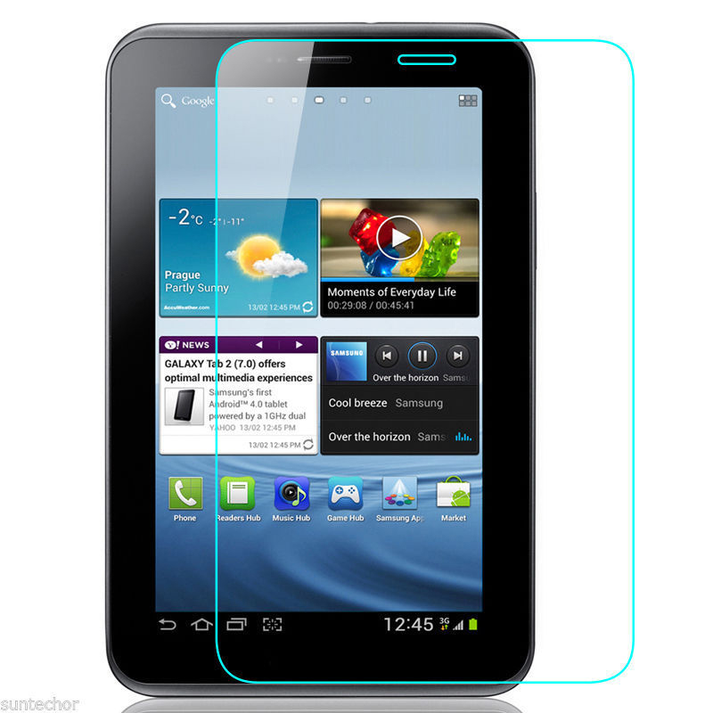 Tempered Glass Screen Protector for Samsung Galaxy Tab 2 7.0 P3100 P3110 7