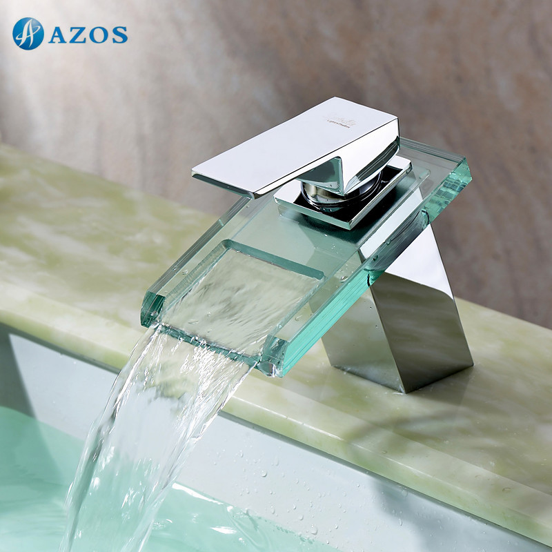 Bathroom Basin Faucets Chrome Polish Waterfall Spout Deck Mount Single Handle Hot Cold Water Toilet Furniture MPPB040CBathroom Basin Faucets Chrome Polish Waterfall Spout Deck Mount Single Handle Hot Cold Water Toilet Furniture MPPB040C