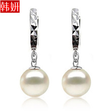 shell pearl earrings pure silver earrings 925 pure silver in ear silver earrings 258