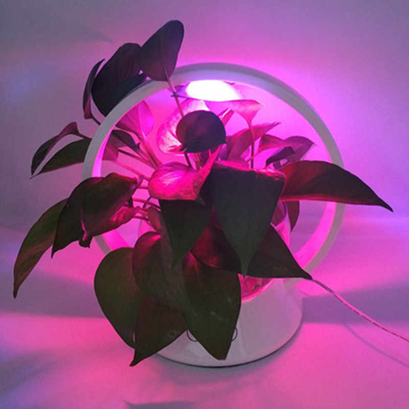 Hzfcew Led Smart Touch Plant Growth Lighting Desk Lamp Flowers And