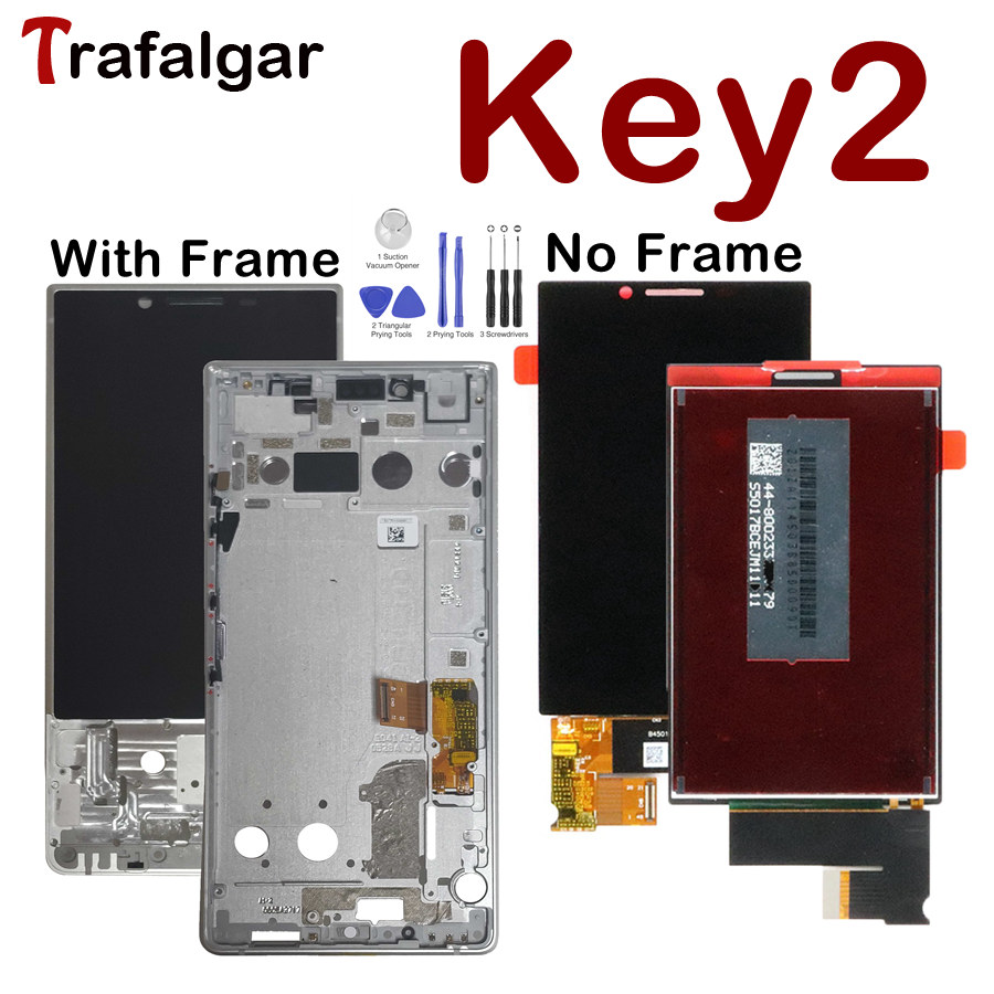 For BlackBerry KEY2 LCD Display Touch Screen Digitizer For BlackBerry KEY2 Display With Frame Athena Key