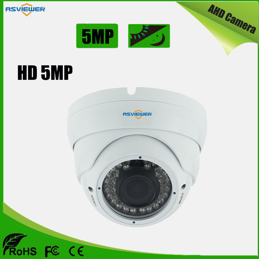 AR0521 Sensor 5MP AHD Camera Varifocal Lens Security Surveillance Camera Night Vision CCTV Metal Dome Camera AS-AHD2301H5AR0521 Sensor 5MP AHD Camera Varifocal Lens Security Surveillance Camera Night Vision CCTV Metal Dome Camera AS-AHD2301H5
