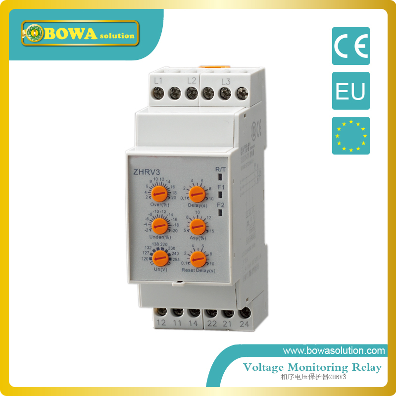 Voltage monitoring relay ZHRV3-01 o 02 or 03 voltage monitoring relay zhrv3 08 to 11