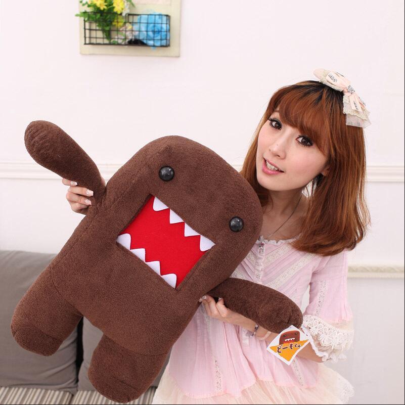 42cm domo kun doll children creative gift the kawaii domo kun plush toy Cute мягкая игрушка domo kun