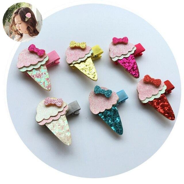 Helado de kawaii accesorios del clip del pelo arcos clips tiara tocado  niñas niños horquilla ornamentos. Sitúa el cursor encima para ... cdfe625eaf88