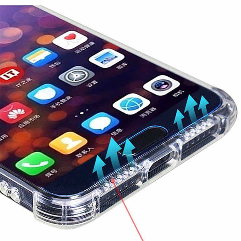 For Huawei P20 P30 Pro Nova 2 Plus 3e 3i 4 Lite Honor 8C 7A 7C Y7 Y6 Y9 Prime 2018 2019 6D Surround Drop-Proof Case Cover Caqa