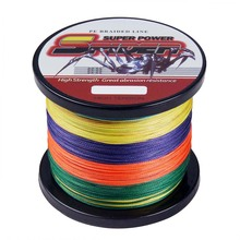 Super Strong 4 Strands 1000m 6-100lb Braided Fishing Line Multifilament Fishing Line Material from Japan Fishing Tackles