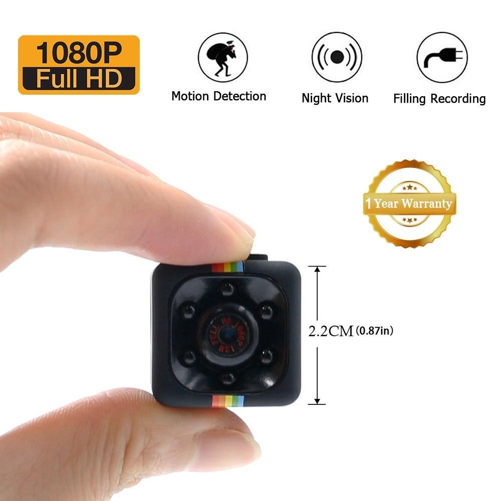 SQ11 mini Camera HD small cam 1080P Sensor Night Vision Camcorder Micro video Camera DVR DV Motion Recorder Camcorder SQ 11