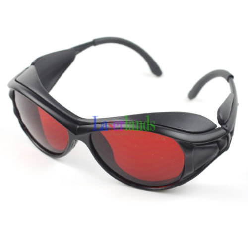 190-540nm&800-1100nm OD4+ Green+IR Laser Protective Goggles Safety Glasses CE 100x200mm violet blue and green laser safety window for 190 540nm o d 4 thickness 5mm