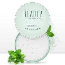 Corrector ajuste suelto translúcido cara Polvo De hornear Polvo Poudre Libre Polvo Traslucido Base De Maquillaj Base para el cuerpo