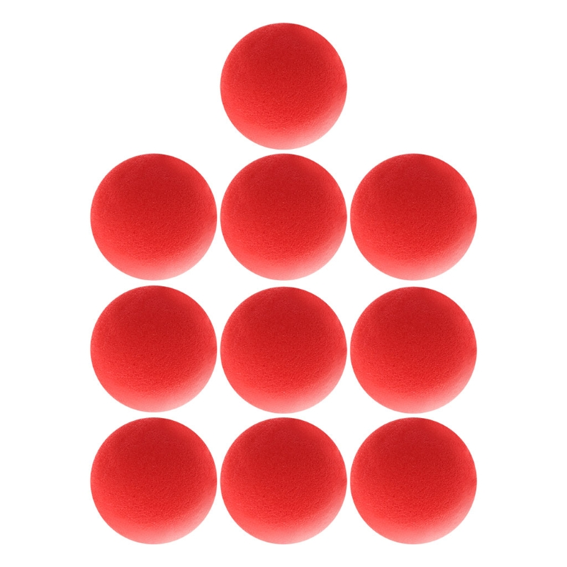 10PCS 4.5cm Finger Magic Tricks Props Sponge Balls Close-UP Street Classical Illusion Stage Comedy Tricks Magic Balls 2018-m15 image