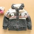 autumn winter children clothes baby  boys sweater child clothing thickness tops outerwear coat jacket outwear