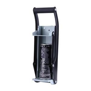 Image 2 - 16oz Beer Can Crusher Wall Mounted Hand Push Soda Cans Bottle Opener Iron Bottle Crushing Recycling