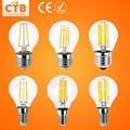 LED Filament Light Dimmable E27 220V 240V 4W 8W 12W 16W Glass Housing Edison Blub E14 Antique Retro Vintage LED Lamp