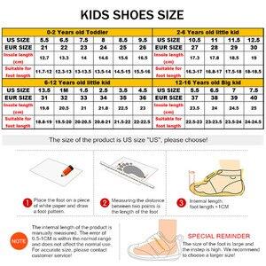 Image 5 - Extérieur doux antidérapant enfants chaussures de course été respirant maille enfants baskets mode décontracté garçons chaussures taille 28 40