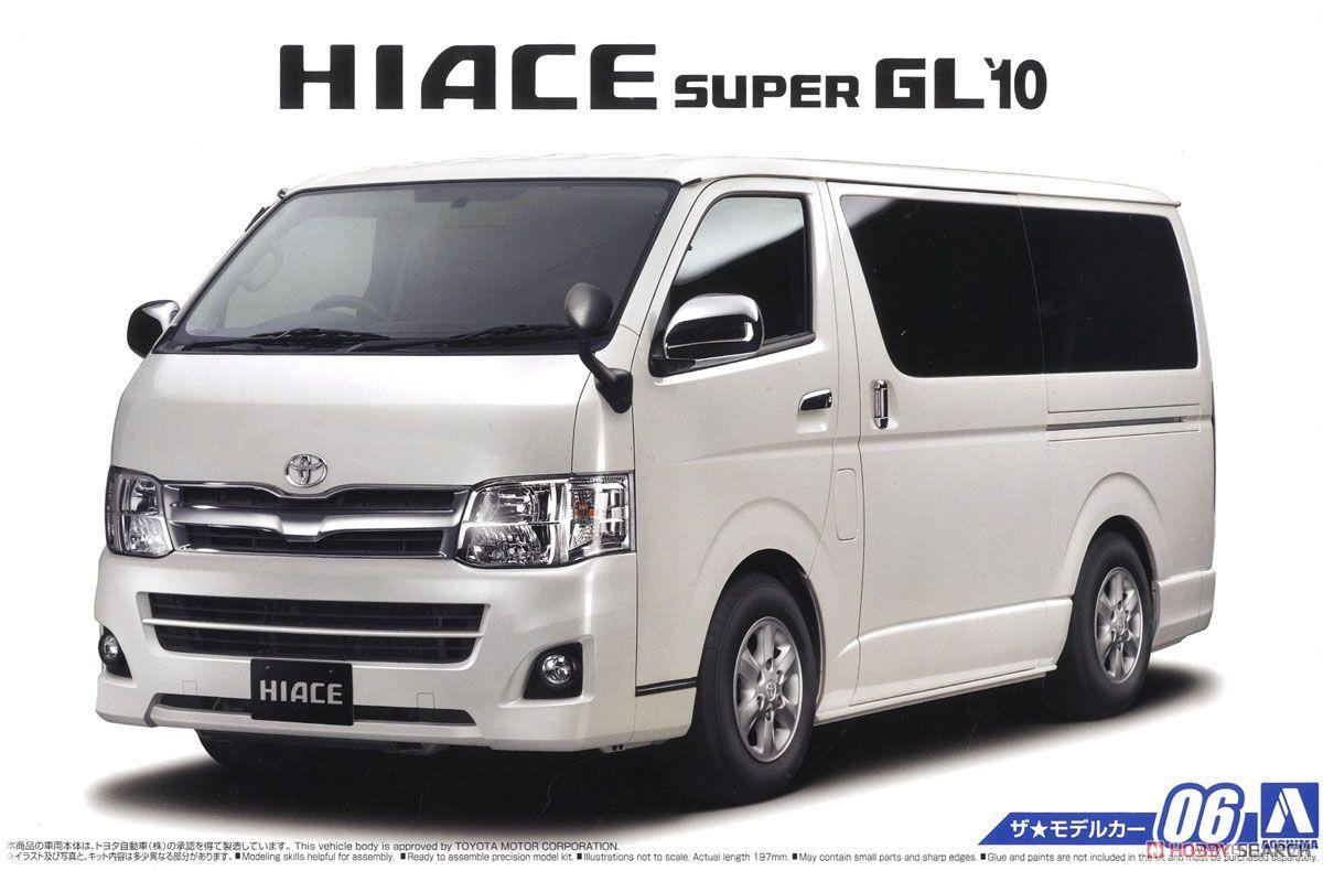 1 24 Toyota Hiace TRH 200 V Super GL 10 05157 Di Model Kit Bangunan