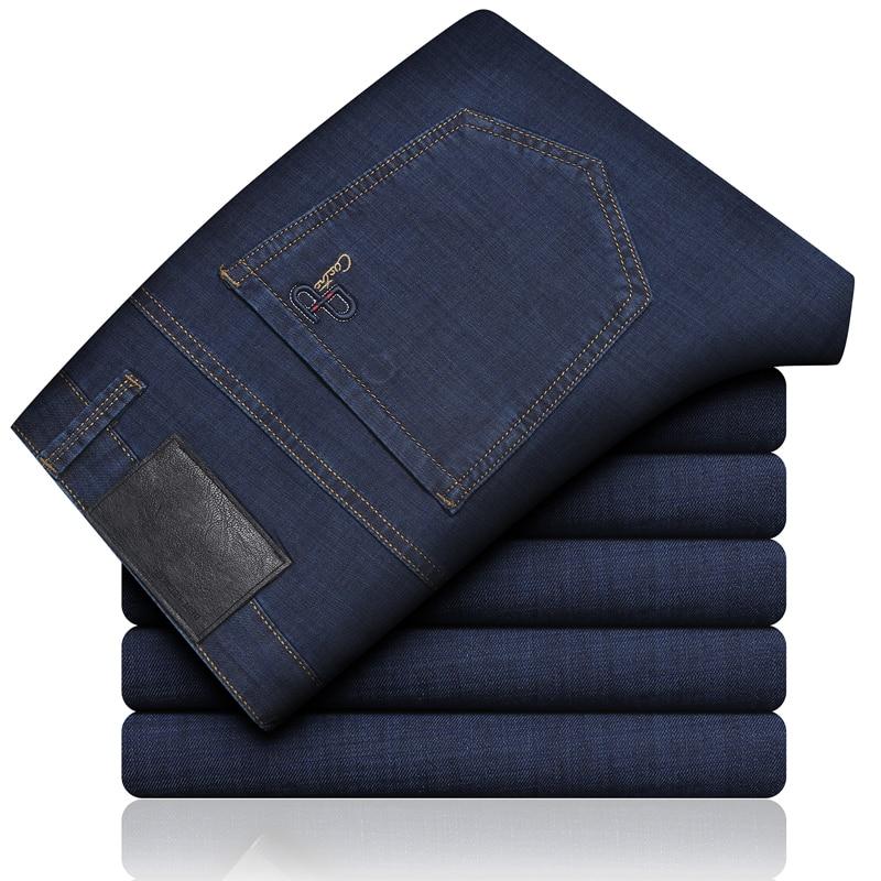 Male   Jeans   Men   Jean   Homme Men'S Classic Vetement Peto Vaquero Hombre Biker Straight Masculino Denim Man Pants Slim Fit Business