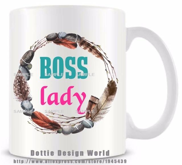 Boss lady 11oz ceramic white coffee tea cup novelty funny travel mug boss lady 11oz ceramic white coffee tea cup novelty funny travel mug diy custom personalized mugs negle Choice Image