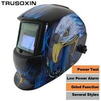 Pro Sexing 4 Arc Sensor Solar Auto Darken Shading Grinding Tig Arc Big View Welding Helmet