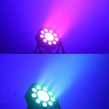 Горячая 2019 led par 150 Вт плоский cob rgb 3в1 led cob 150 Вт dmx для сценического освещения профессиональный для dj свадебных вечеринок