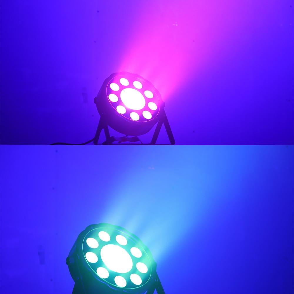 hot 2019 led par 150w flat cob rgb 3in1 led cob 150w dmx for stage lighting professional for dj wedding parties