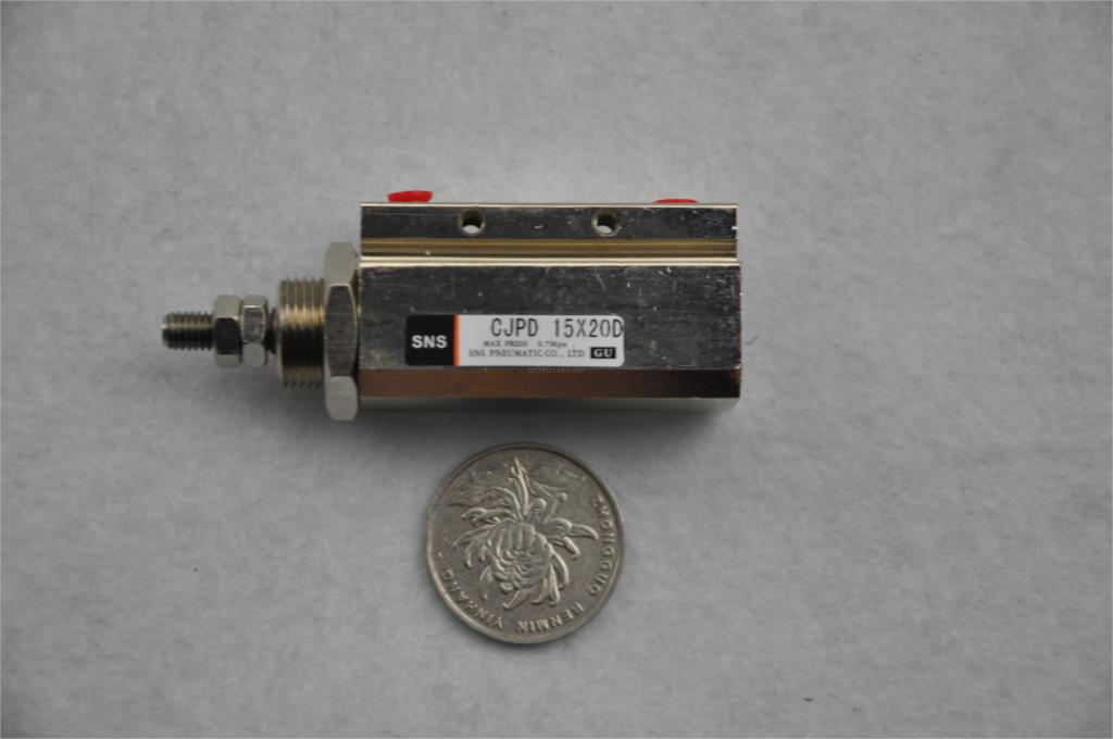 mini CJPD15-20 M5PT with magnetic reed doulbe acting need shaped air pneumatic cylinder new original japan smc d f8b dc ac 5 120v magnetic reed switch for air pneumatic cylinder