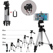 Professional Camera Tripod Mount Stand Holder Aluminum+phone