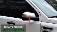 Accessories ! Matt! ABS Side Door Rearview Mirror Cover Trim 2 Pcs For Land Rover Freelander 2 LR2 2013 2015