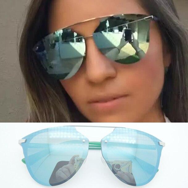6ef1cb7ad417 Sale Hot 2017 New Brand Sunglasses Prism Effect Vintage Fishing Retro  Fashion Mirror Sunglasses Women Brand Designer Sunglasses-in Sunglasses  from Women's ...