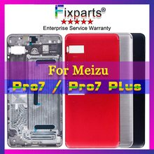 Original New MEIZU Pro7 Pro 7 Plus Battery Case Cover Hard Protective Back Replacement Parts meizu pro cover