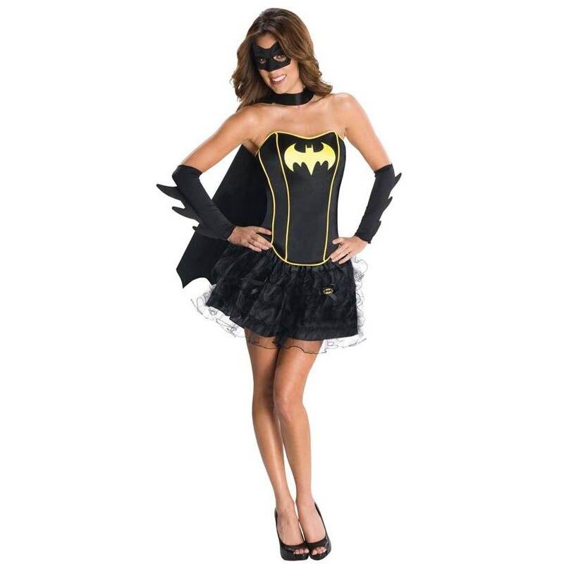 Woman Halloween Costume Batman Superhero 2018 Wholesale Price Hot Sale Sexy Women Halloween Cosplay Costume W205030