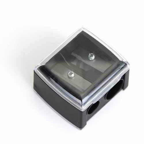 SOSW-דיוק קוסמטי עיפרון מחדד עבור גבות אייליינר 2 חורים