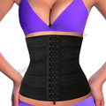 Plus Size XXXL Hot Body Shapers Steel Bones Waist Trainer Women High Waist Cincher Trainer Corset Underbust Slimming Belt Shaper
