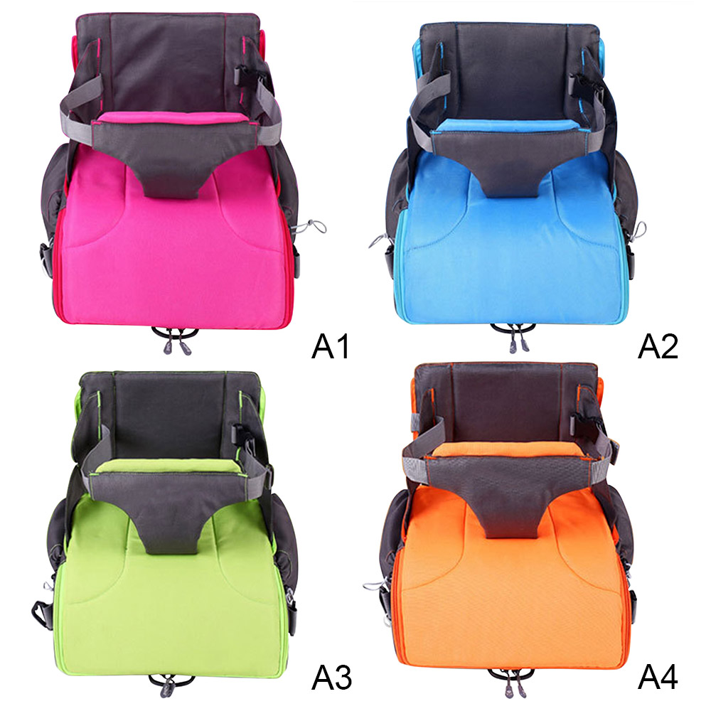 Multifunctional Portable Baby Booster Seats Diaper For Mom Baby Chair Feeding Foldable Bag Diaper Backpack