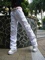 Venda de férias Wholewomen novas 100% de algodão calças clássico carga folgado casual calças compridas 2803