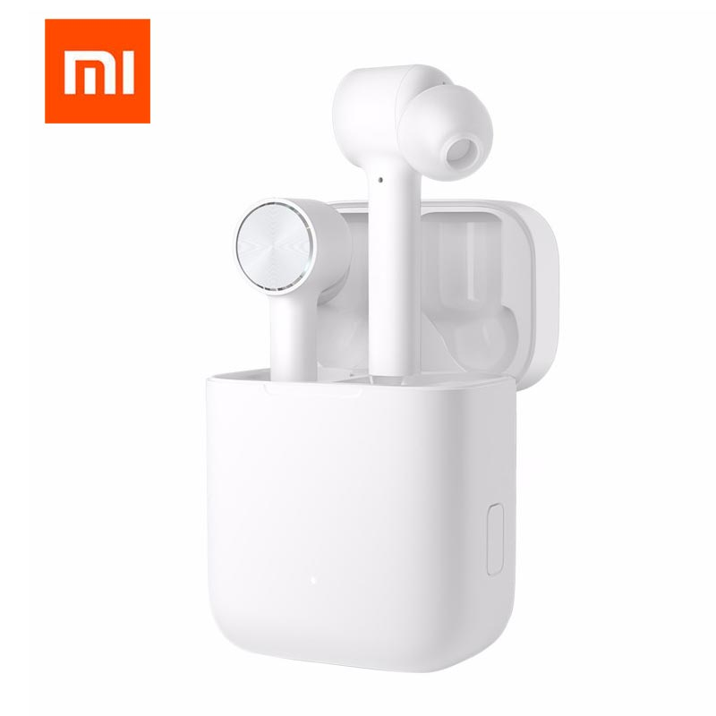 Xiaomi TWS Bluetooth casque Air blanc sans fil Mini sport Invisible casque lecteur Portable tactile simple et Double prise d'oreille