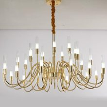 Design Lamp Gold Modern Led Chandelier Lighting Living Room Kitchen Bedoom Foyer Light Fixtures Decor Home lustre Metal G9
