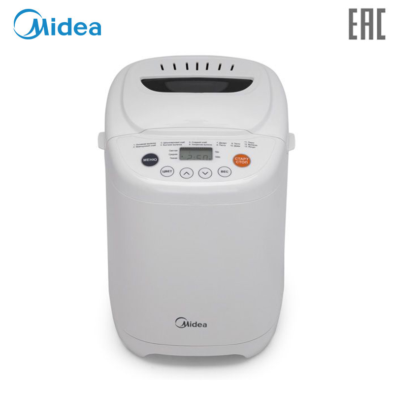 Bread maker Midea BM-220AP-W цена и фото