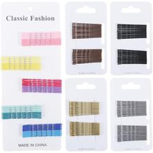 152 Pack Metal Gold Black Small Mini Curved Waved Spiral Twist U Shaped Bobby Pins Hairpins Hair Clips Barrettes Grip Holder