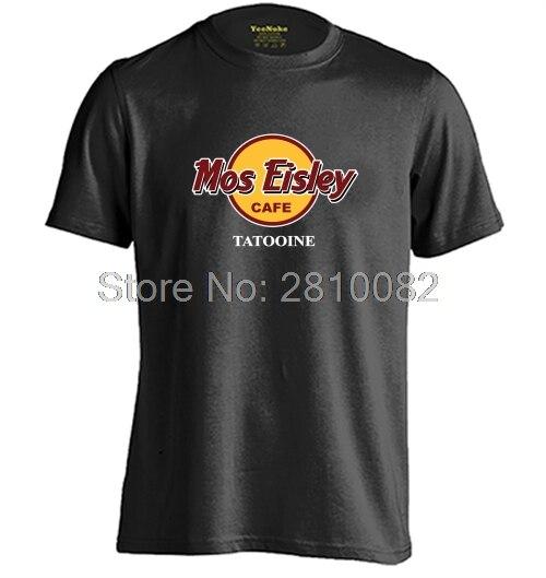 Mos Eisley Café Hommes et Femmes Personnalisé T Shirt Personnalisé T Shirt