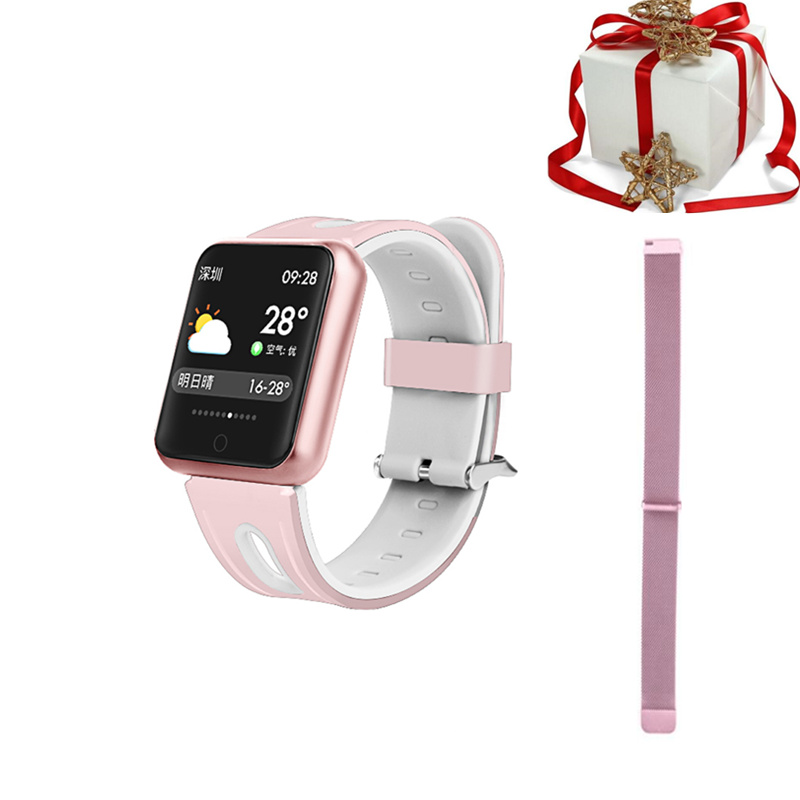 Smart wristband belt set bluetooth smart watch for iphone women lady fashion fitness tracker for xiaomi