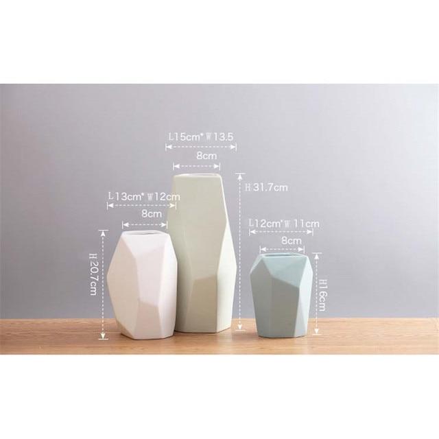 Nordic Minimalistic Ceramic Vase