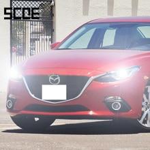 For Mazda CX-7 3 5 MX-5 RX-8 SCOE 2PCS Auto Low Beam Super Halogen Bulb Headlight Car Styling warm white