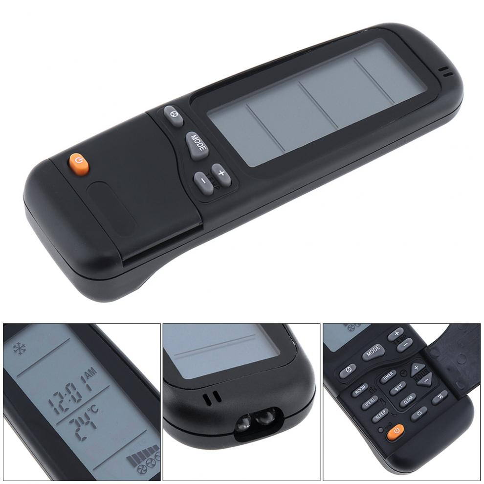 universal lcd air conditioner remote control with 8m. Black Bedroom Furniture Sets. Home Design Ideas