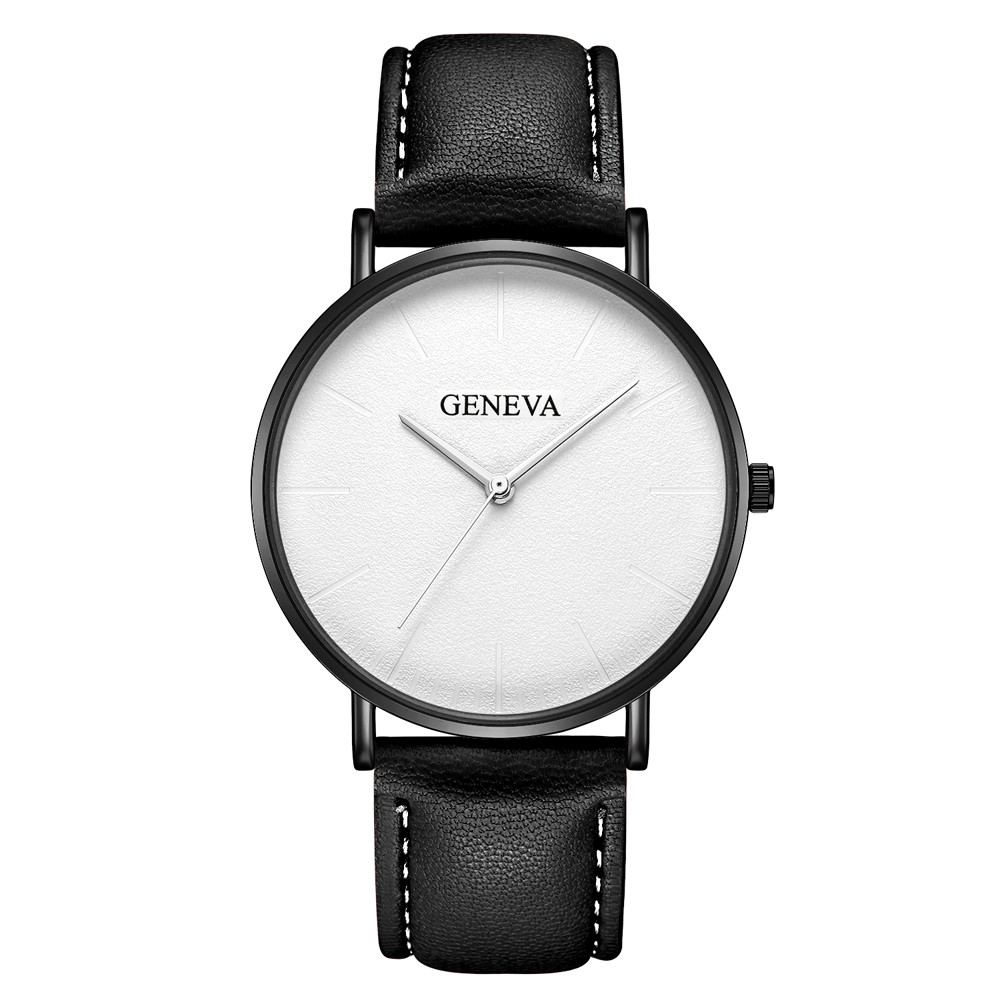 2018 New Rosefield Watches Women Fashion Women Watches Geneva Leather Military Casual Analog Business Watches 11.14