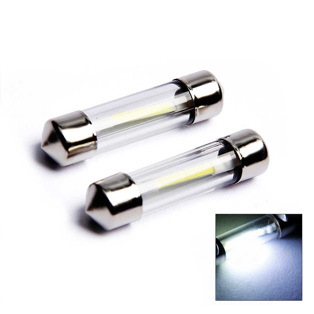 1 stücke 31mm 36mm 39mm 41mm Led-lampe C5W Auto Dome Licht Auto Innen Karte Dach lesen Lampe DC12V Weiß Farbe