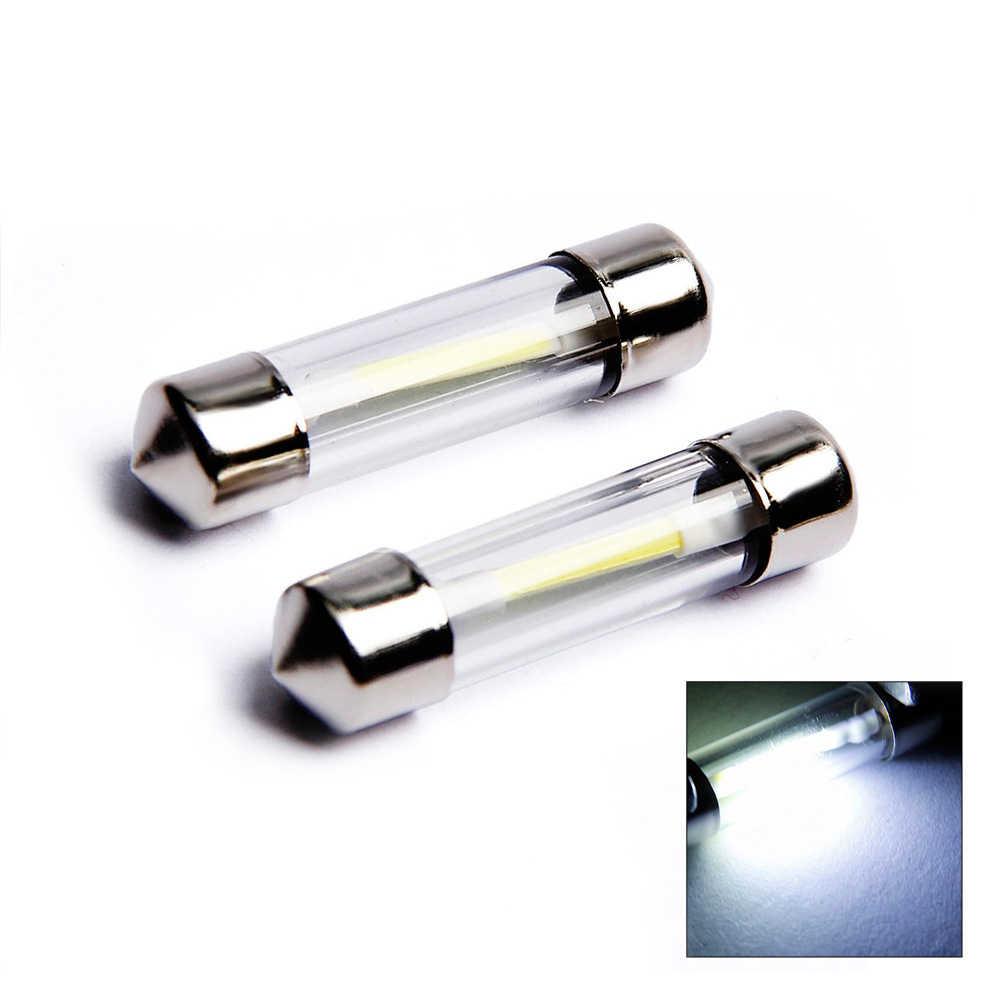 1pcs 31mm 36mm 39mm 41mm LED הנורה C5W רכב כיפת אור אוטומטי פנים מפת גג קריאת מנורת DC12V לבן צבע